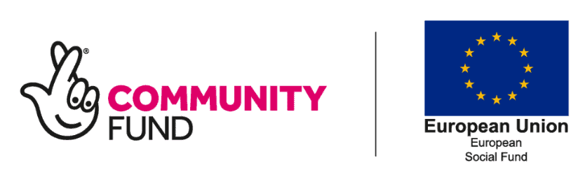 European Social Fund and The National Lottery Community Fund logos